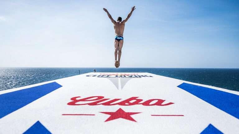 Red Bull Cliff Diving Cuba