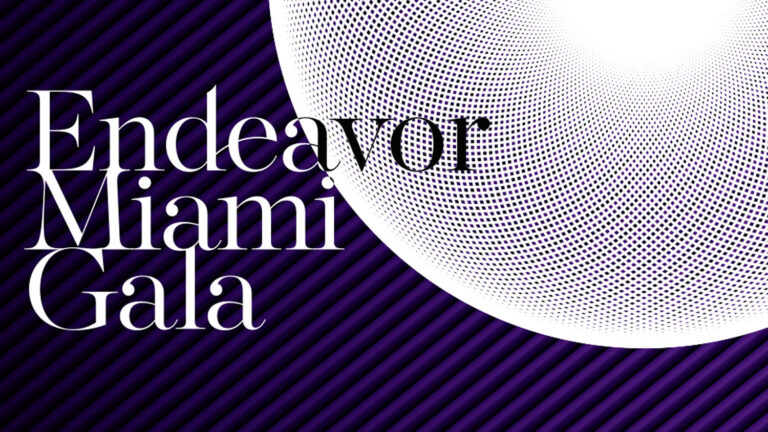 Endeavor Miami 2017 Gala