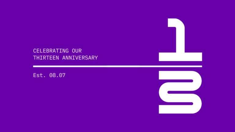 Thirteen Anniversary 🎉