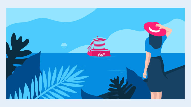 Illustration work for Virgin's Sailor App